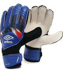 guantes azules-negros-rojos umbro goalkeeper gloves