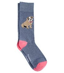 jos. a. bank bulldog mid-calf socks, 1-pair clearance