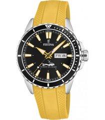 reloj the originals amarillo festina