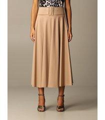 blumarine skirt blumarine skirt with belt