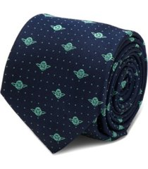 star wars yoda dot men's tie