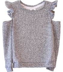 sweter wings grey