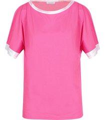 gran sasso designer t-shirts & tops, pink cotton women's t-shirt