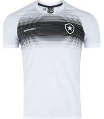 camiseta do botafogo legend - masculina - branco