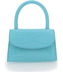 by far mini croco handbag