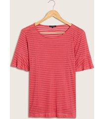 camiseta con transparencia rosado 4