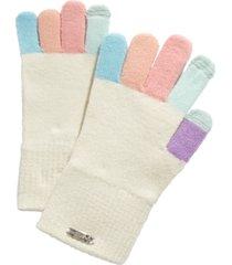 steve madden multicolored-finger magic gloves