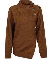 kenzo tc seasonal buttoned sweater