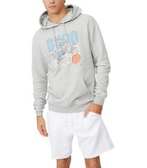 men's collab fleece pullover hoodie