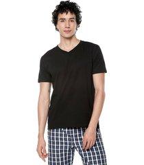 camiseta interior negra colore