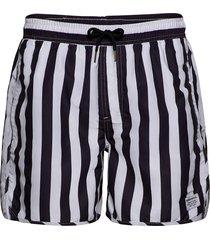 swim shorts big stripes badshorts vit dedicated