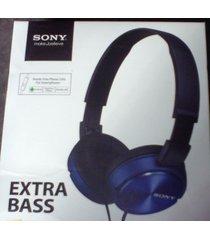 diadema sony extra bass zx320 azul