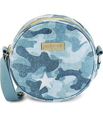 camo cotton crossbody bag