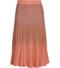cyrilla knälång kjol rosa baum und pferdgarten