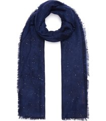'starlight perla' fringe cashmere scarf