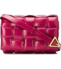 bottega veneta padded cassette crossbody bag - pink