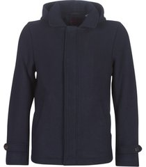 mantel scotch soda classic hooded jacket with fixed inner collar