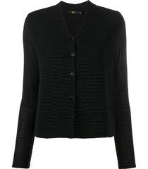 seventy lightweight knit cardigan - black