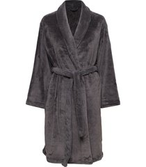 cornflocker fleece robe short morgonrock grå missya