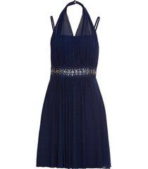 abito con applicazioni di strass (blu) - bodyflirt