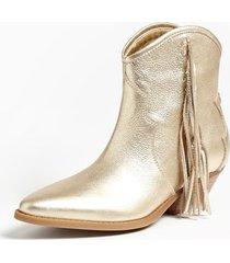 skórzane błyszczące buty model namia