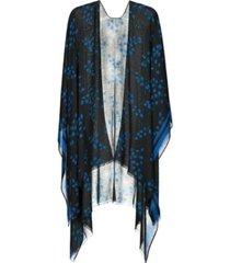 kate spade new york women's sea breeze ruana scarf