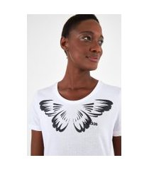 t-shirt adidas graphic butterfly