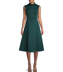 fit & flare sleeveless dress
