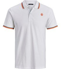 jack & jones heren poloshirt logo pique slim fit