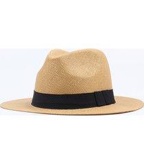 unisex casual cappello di paglia estivo panama da spiaggia vgiaggio