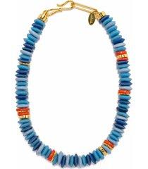 laguna necklace - denim