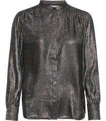 blouse long-sleeve blus långärmad svart gerry weber