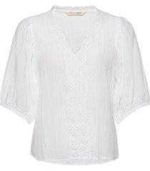 portofino blouse blouse lange mouwen wit odd molly