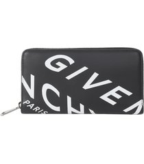 givenchy allover logo wallet