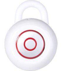 audífonos inalámbricos deportivos, mini audifonos bluetooth manos libres  in-ear stealth auricular universal con mic handfree para el iphone teléfono móvil samsung (blanco)