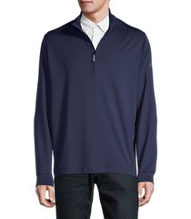 stand collar pullover