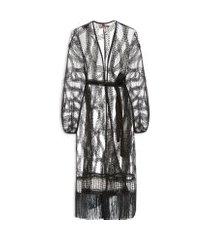 kimono feminino ale correntes - preto