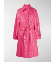 mm6 maison margiela trench coat