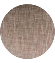 jogo americano textilene 45 x 30cm circle marrom