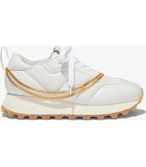 proenza schouler puffy chain sneakers neve/white 38