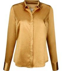 blouse mona geel