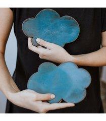 mydelniczka turkusowa chmurka