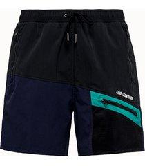 aime' leon dore shorts in tessuto colorblock