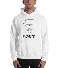 buzo capota breaking bad heisenberg sombrero silueta estampado negro
