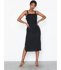 glamorous strappy midi dress loose fit dresses