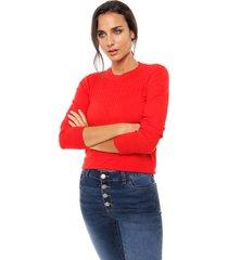sweater rojo nano ágatha