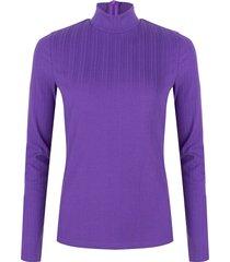 lofty manner top laurie purple paars