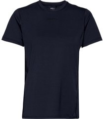 adv essence ss tee w t-shirts & tops short-sleeved blå craft
