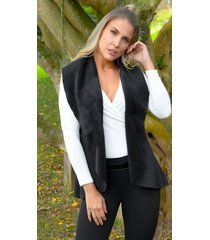 chaleco outfit 3102 para mujer negro