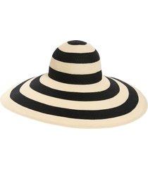 women's eugenia kim sunny stripe woven wide brim sun hat -